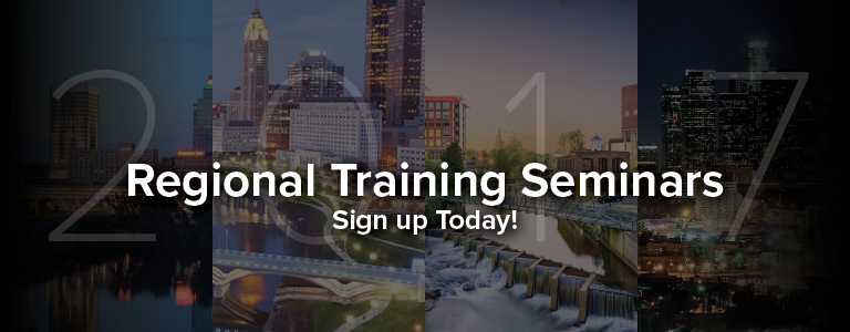 2017 Regional Training Seminars